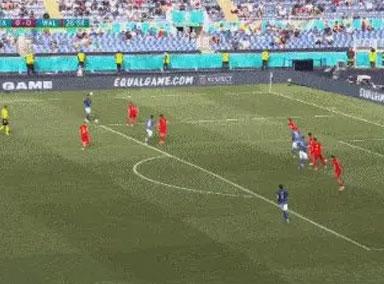 欧洲杯小组赛第三轮A组:意大利小胜威尔士