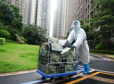 广州:封闭区居民急需用药