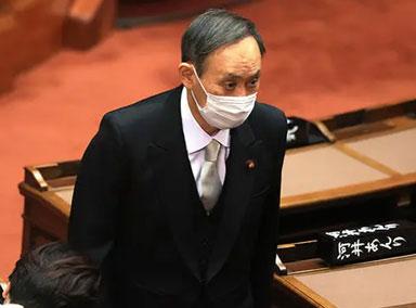 日本:菅义伟内阁不支持率升至45%