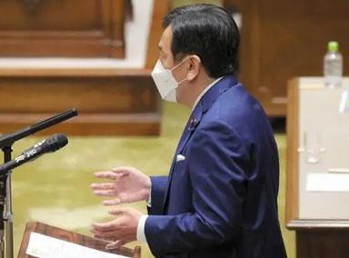 日本:在野党提交内阁不信任案