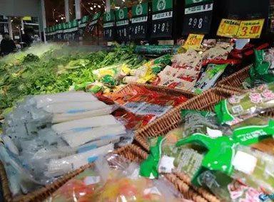 广州:市场物资供应充足