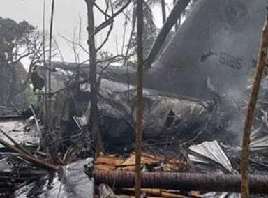 菲律宾军机坠毁致50人死亡