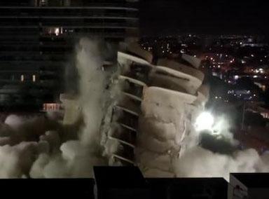 迈阿密倒塌大楼仍有121人生死不明