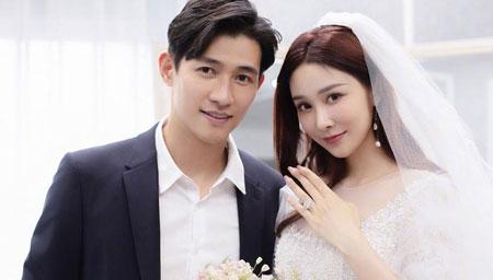 李子峰夫婦婚紗照